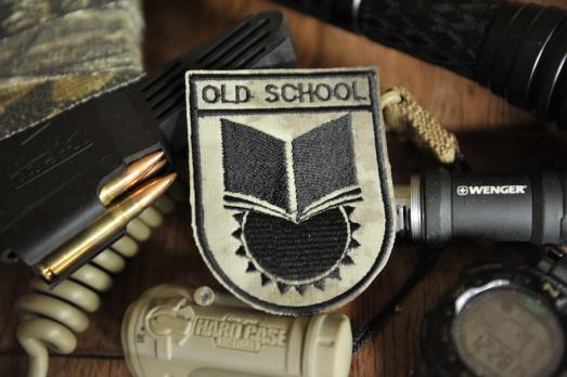 Шеврон OLD SCHOOL