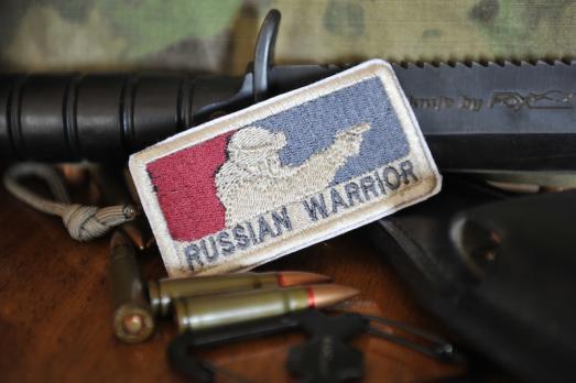 "Шеврон ""Russian Warrior"""