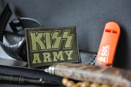 """Шеврон """"KISS ARMY"""""""