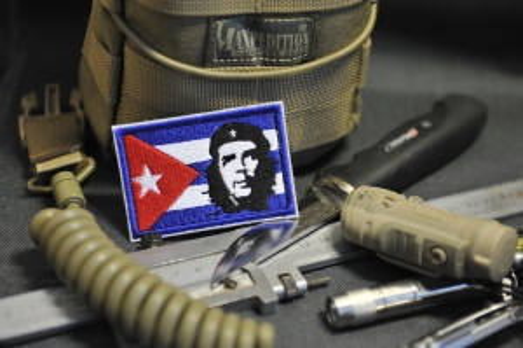 "Шеврон Флаг Куба ""Ч"""