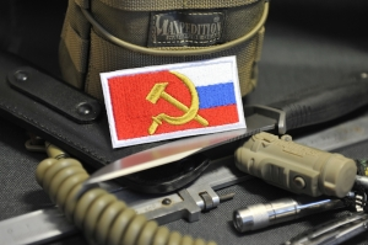 """Шеврон """"СССР Россия"""""""