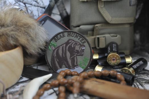 Шеврон Bear Hunter
