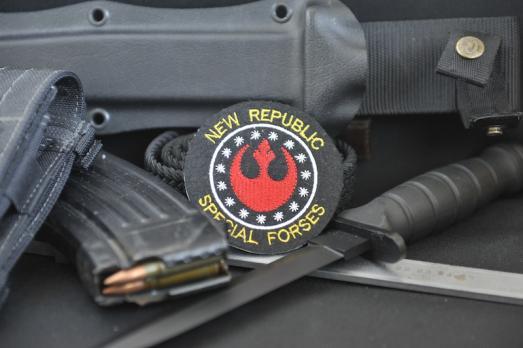 Шеврон Star Wars Новая Республика