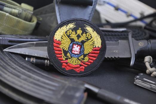 Шеврон Герб символика СССР РОССИЯ