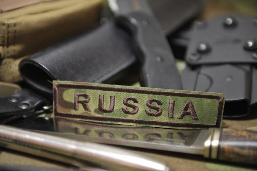 Нашивка RUSSIA