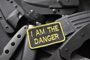 "Шеврон ""I AM THE DANGER"""