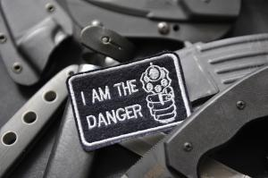 """Шеврон """"I AM THE DANGER"""""""