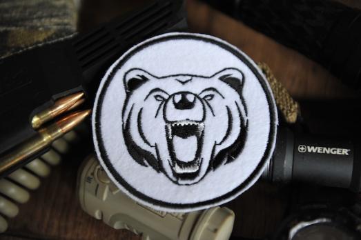 "шеврон ""Медведь"""