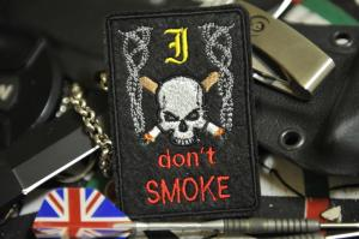 """Шеврон """"NO SMOKE"""""""
