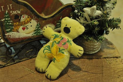 """Подушка для иголок """"Медвежонок"""""""
