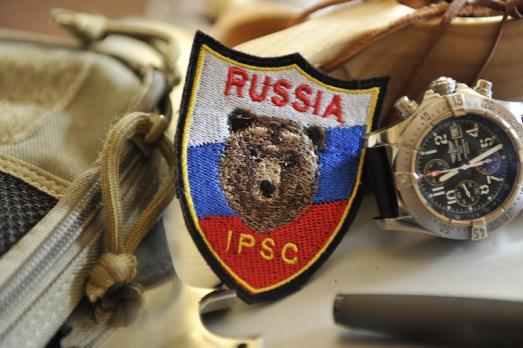 "Шеврон ""RUSSIA IPSC"""