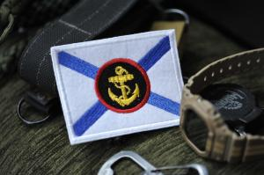 """Шеврон """"Флаг Морской пехоты"""""""