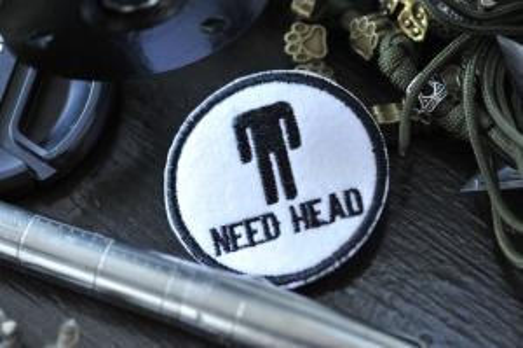 """Шеврон """"NEED HEAD"""""""