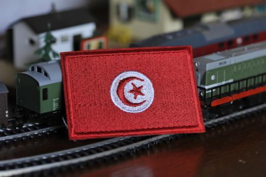 Шеврон флаг Туниса